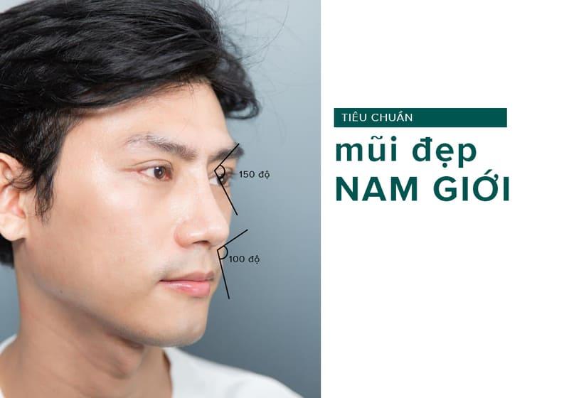 tiêu chuẩn mũi l line cho nam